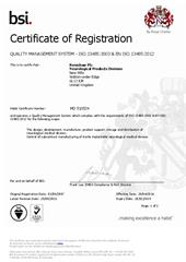 Certificate: Renishaw Neurological Products Division MD510524