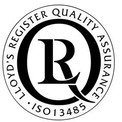 ISO13485 approval logo