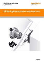 Installation & user's guide:  HPMA high-precision motorised arm