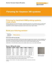 Brochure:  Fixturing for Keyence XM systems