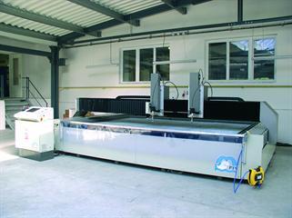 PTV water cutting machine