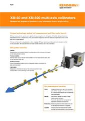 Flyer:  XM-60 and XM-600 multi-axis calibrator