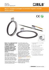 Data sheet: RoLin™ component magnetic encoder system