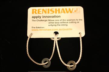 Renishaw Oceania - puzzle solution step1