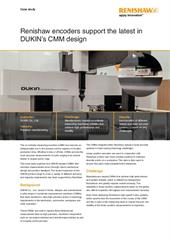 Case study:  Renishaw encoders support the latest in DUKIN's CMM design
