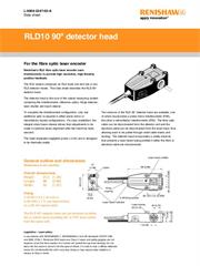 Data sheet: RLD10 90 degree detector head