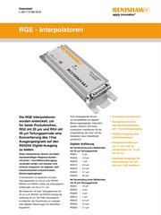 Datenblatt: RGE - Interpolatoren