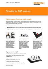 Brochure:  Fixturing for OGP systems