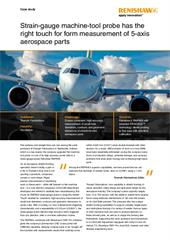 Case study: Triumph - Strain-gauge machine-tool probe has the right touch for form measurement of 5-axis aerospace parts