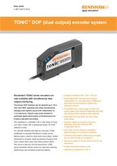Data sheet:  TONiC™ DOP (dual output) encoder system