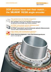 Poster: DDR motors have met their match…the SiGNUM™ RESM angle encoder (English and German)