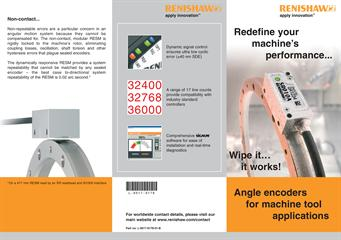 Flyer: Angle encoders for machine tool applications