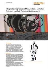 Anwenderbericht:  Integrierte magnetische Messsysteme verleihen Robotern von PAL Robotics Gleichgewicht