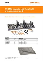 Data sheet:  M8 magnetic and clamping kit with component set B