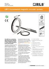Data sheet:  LM13 magnetic encoder system