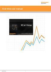 Manual: XCal-View data analysis software