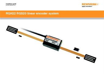 Installation guide:  RGH22 RGS20 linear encoder system