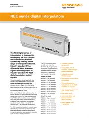 Data sheet: REE series digital interpolators