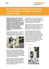 Članek: TRS1 - Nova tehnologija prepoznavanja orodij za visokohitrostno in zanesljivo zaznavanje poškodb orodij