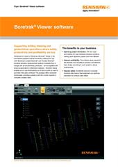 Flyer: Boretrak Viewer software
