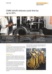 Case study:  CMM retrofit reduces cycle time by up to 55%