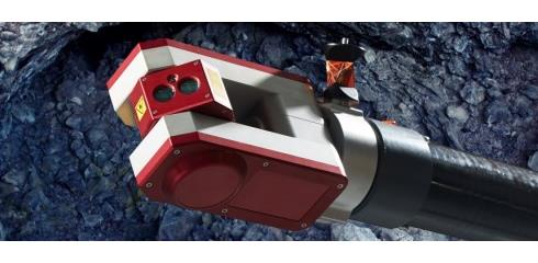 Void Scanner in underground cavity: Void Scanner, laser