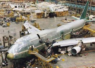 Boeing assembly facility