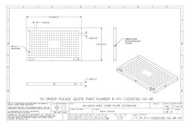 Technical drawing:  R-PV-13250150-10-4R