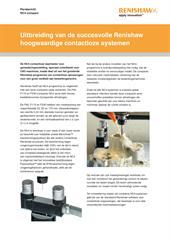 Persbericht: NC4 compact - Uitbreiding van de succesvolle Renishaw hoogwaardige contactloze systemen