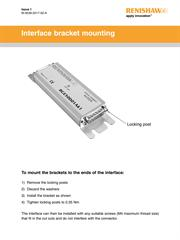 Installation guide: Interface bracket mounting