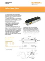Data sheet: HS20 laser head