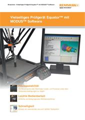 Broschüre: Vielseitiges Prüfgerät Equator™ mit MODUS™ Software