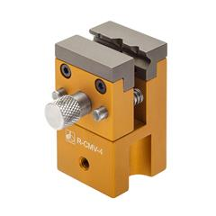 58 mm x 32 mm x 32 mm mini vice with adjustable 11 mm jaws and M4 thread