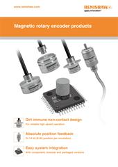 Poster:  Magnetic rotary encoder products