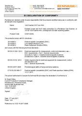 Certificate (CE): Void Scanner Wi-Fi Box MK4 ECD-YK2017-003B