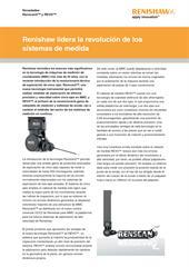 Noticias: Renishaw lidera la revolución de los sistemas de medida Novedades Renscan5™ y REVO®