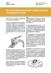 新闻稿: SiGNUM™-RESM - Renishaw最近又给SIGNUM™系列智慧型光学尺引进激动人心的新产品