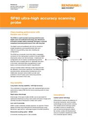 Data sheet: SP80 ultra-high accuracy scanning probe