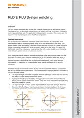 Application note:  RLD & RLU System matching