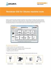 Data sheet: Renishaw GUI for Okuma machine tools