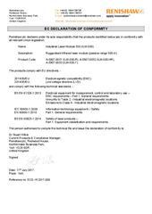 Certificate (CE): ILM-500 ECD-YK2017-009