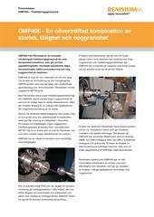 Pressmeddelande:  OMP400 – Trådtöjningsgivarprob - En oöverträffad kombination av storlek, tålighet och noggrannhet