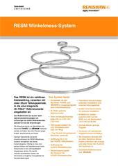 Datenblatt: RESM Winkelmess-System