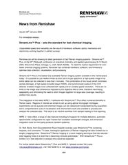 StreamLine Plus press release