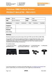 Product bulletin:  PBC-01879 REVO RFC25 kit