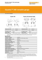 Data sheet: Equator 300 versatile gauge