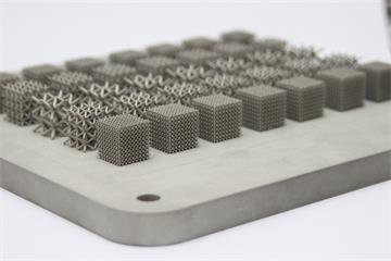 ALSAM project aluminium lattice structures