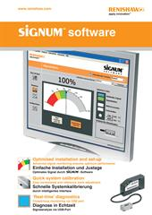 Poster: SiGNUM™ software (English and German)