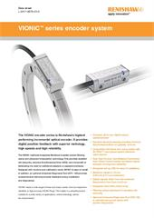 Data sheet:  VIONiC™ series encoder system