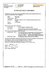 Certificate (CE): MP11 2017-55